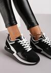 Czarne Sneakersy Seren