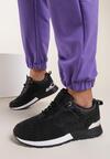Czarne Sneakersy Malonne