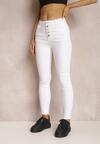 Białe Spodnie Skinny Winvienne