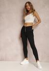 Czarne Spodnie Skinny Winvienne