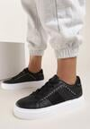 Czarne Sneakersy Amriel