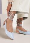 Niebieskie Sandały Sariel