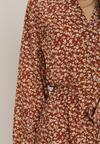Brązowa Sukienka Kelless