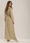 Biała Sukienka Thelnele