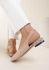 Beżowe Sandały Delola