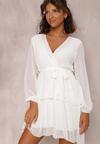 Biała Sukienka Shadebinder