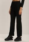 Czarne Spodnie Szerokie Salanome