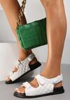 Białe Sandały Zaehania