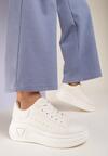 Beżowe Sneakersy Sabrisia
