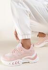 Różowe Sneakersy Pisidise