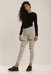 Jasnoszare Spodnie Skinny Vhesova