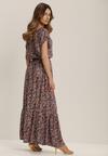 Granatowa Sukienka Petisesis