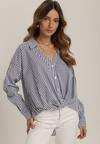 Biało-Niebieska Koszula Rheliphis
