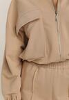 Beżowa Bluza Calisia