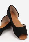 Czarne Sandały Miraney