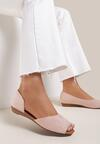 Różowe Sandały Miraney
