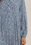 Niebieska Sukienka Elinnore
