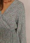 Jasnozielona Sukienka Brimere