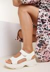 Beżowe Sandały Castithis