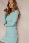 Jasnoniebieska Sukienka Sageis