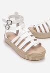 Białe Sandały Iphiophai