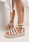 Beżowe Sandały Iphiophai