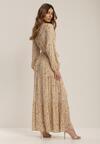 Jasnobeżowa Sukienka Nyshophe