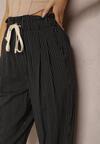 Czarne Spodnie Nethiphoia