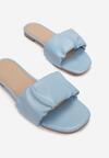 Niebieskie Klapki Kaphaia