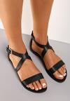 Czarne Sandały Neselsa