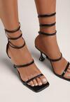 Czarne Sandały Iasisa