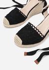 Czarne Sandały Messeris