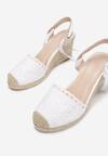 Białe Sandały Messeris