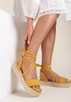 Żółte Sandały Mystusei