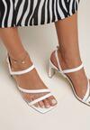 Białe Sandały Prosassea