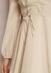 Beżowa Sukienka Eilceran