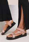 Różowe Sandały Xenreia