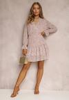 Jasnoróżowa Sukienka Kyrinda
