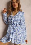 Niebieska Sukienka Salanise