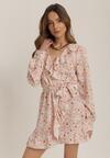 Łososiowa Sukienka Salanise