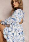 Jasnoniebieska Sukienka Assanora