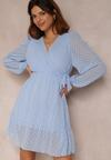 Niebieska Sukienka Savagale