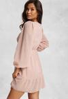 Różowa Sukienka Savagale