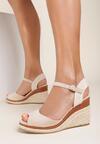Beżowe Sandały Adradine