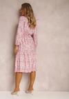 Różowa Sukienka Savalia