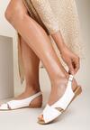 Białe Sandały Metisise