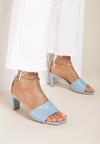 Niebieskie Sandały Petosine