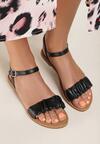 Czarne Sandały Metilia