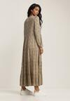Beżowa Sukienka Phrixissis