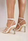 Białe Sandały Athia